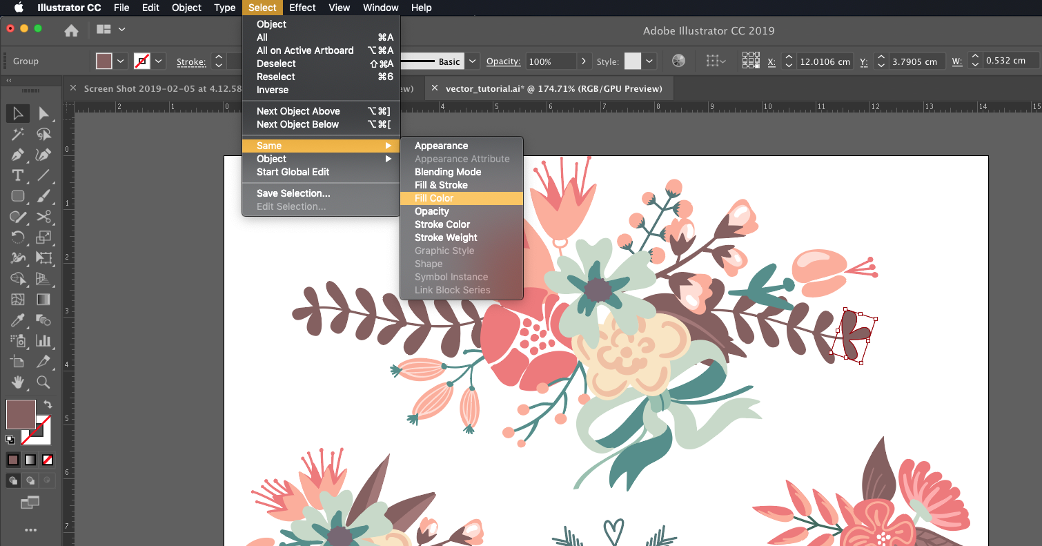 adobe illustrator kursus 4