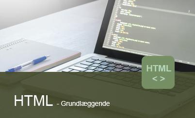 HTML kodning til hjemmesider - Compass Academy