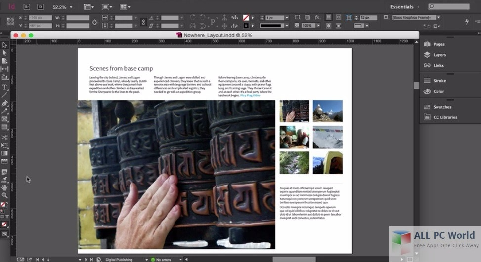 adobe indesign 3